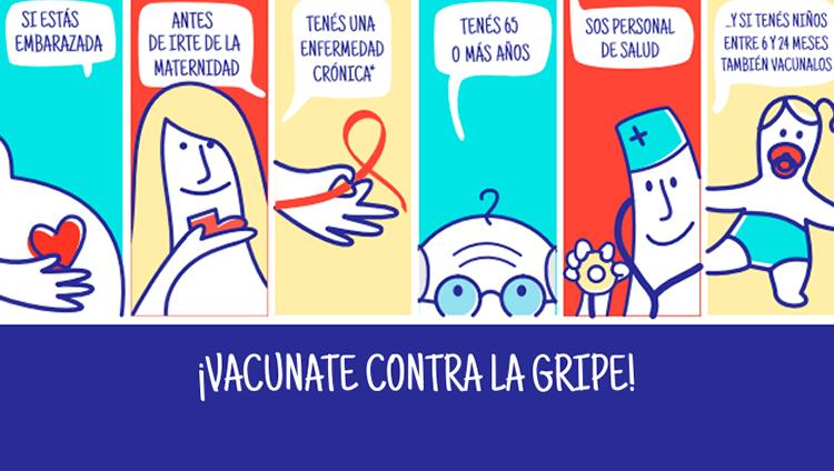 Con la vacuna evitamos enfermarnos